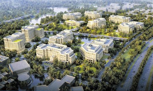 图文:武汉软件新城今