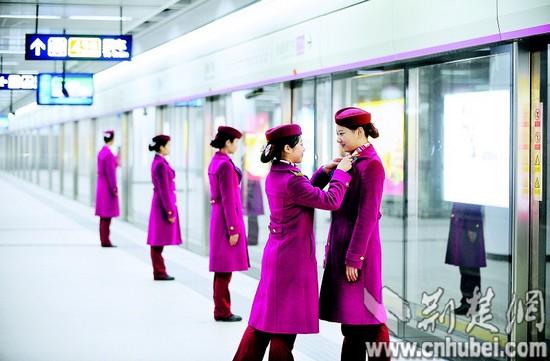 今日10时武汉地铁2号