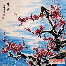 军旅书画家林壮峰:梅