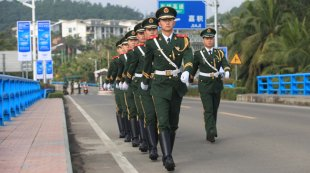 武警海南总队备战2016年博