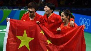 乒乓球女团决赛