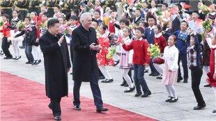 习近平同塞尔维亚总统尼科
