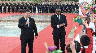 习近平同纳米比亚总统