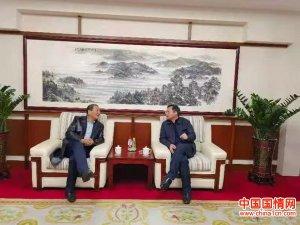 广东河源市委书记会见